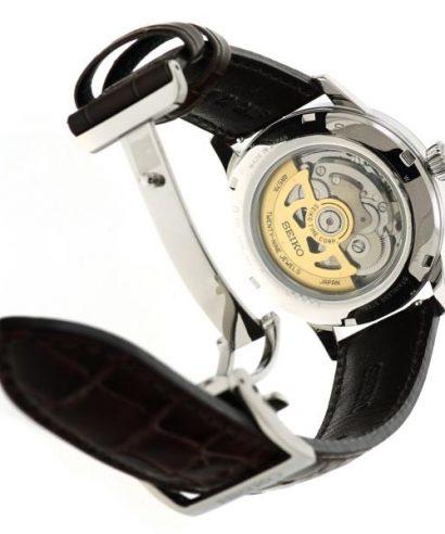 Seiko SSA393J1 Presage Power Reserve Brown Dial Leather