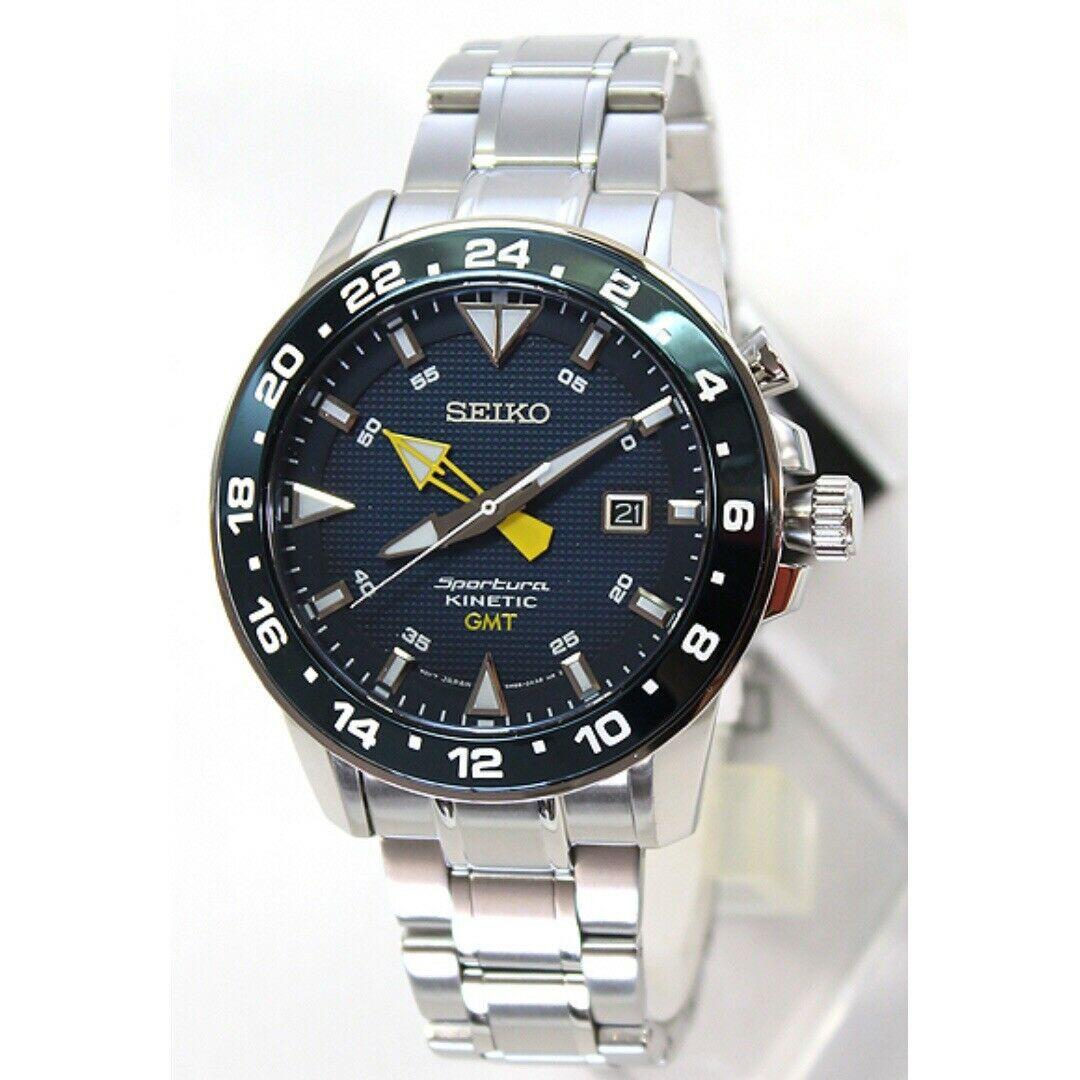 Seiko SUN017P1 Sportura Kinetic GMT
