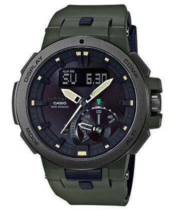 Casio Protrek PRW-7000-3 Dark Olive Green Brand New Watch