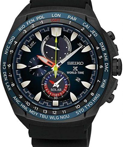 Seiko Prospex SSC551P1 World Time Solar Chronograph