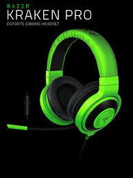 Razer K P 2015 Kraken Pro Headphone Green