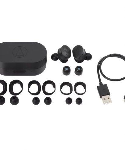 Audio-Technica Turly Wireless earphone ATH-SPORT7TW Black