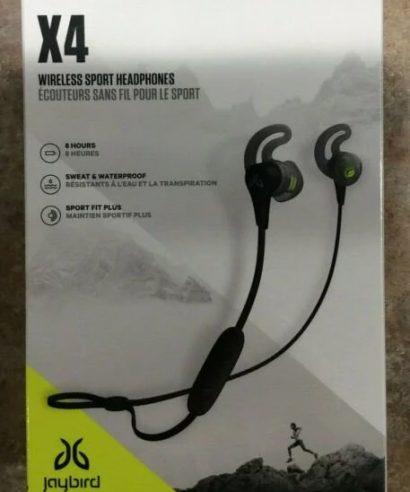 Jaybird X4 Wireless Earphone black metallic/flash