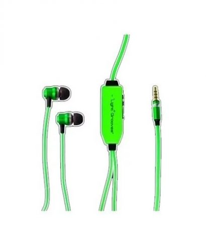 Light Grooves Lighting earphone Green