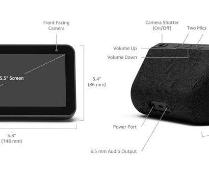 Amazon Echo show 5 Smart Speaker Black