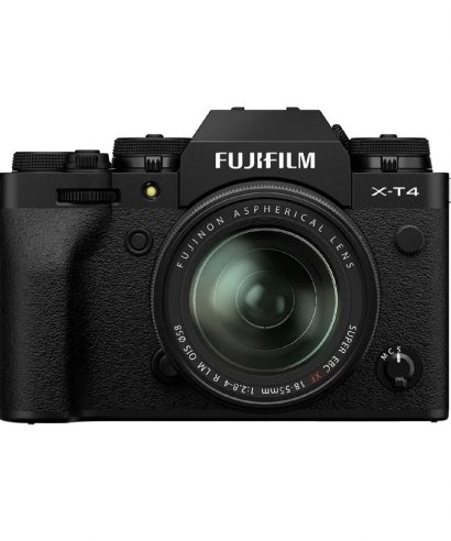 Fujifilm X-T4 Mirrorless Digital Camera With XF 18-55mm Kit Set, Black