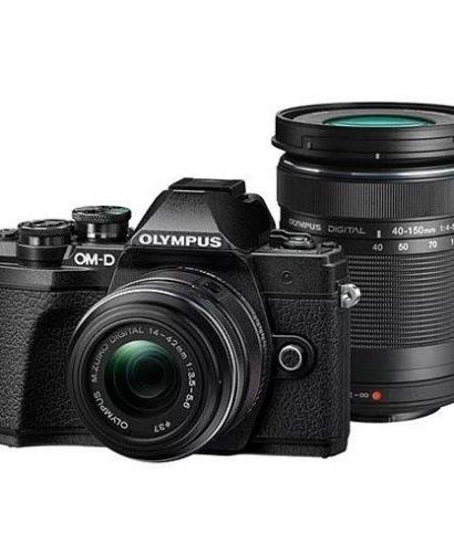 Olympus E-M10 14-42MM+ 40-150MM duo Lens Kit