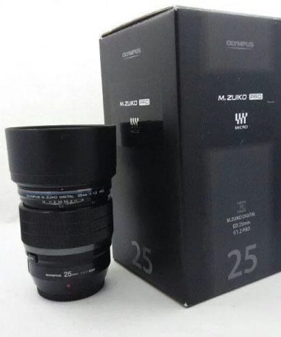 Olympus M.ZUIKO DIGITAL ED 25mm F1.2 PRO