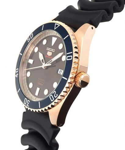 Seiko 5 SRPB96K1 Automatic Brown Dial Men's Watch
