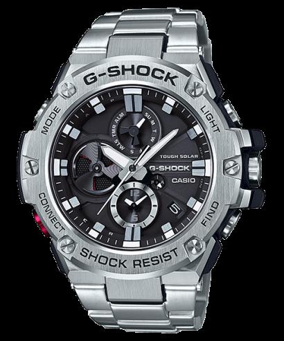 Casio G-Shock GST-B100D-1A G-Steel Quartz Solar Bluetooth Men's Watch