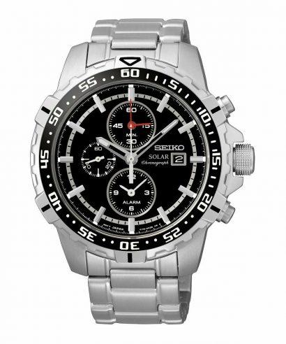 Seiko SSC299P1 Solar Alarm Chronograph Men's Watch