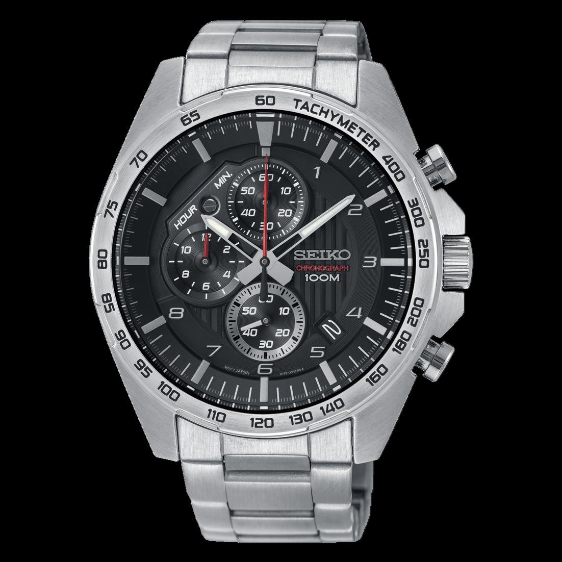 Seiko SSB319P1 Stainless Steel Chronograph Quartz Men's Watch