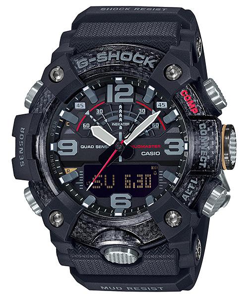 Casio G-Shock GG-B100-1A3 Mudmaster Carbon Core Men's Watch