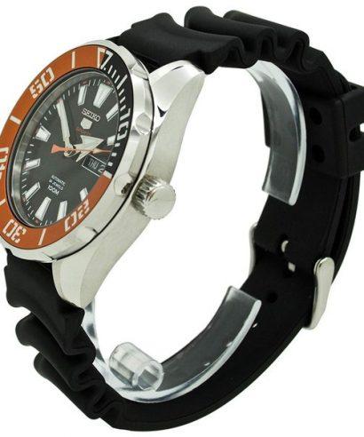 Seiko SRPC59K1 Black Rubber Sports Automatic Men's Watch