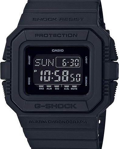 Casio G-Shock All Black Classic DW-D5500BB-1 Men's Watch
