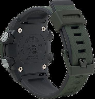 Casio G-Shock GA-2000-3A Carbon Core Guard Men's Watch