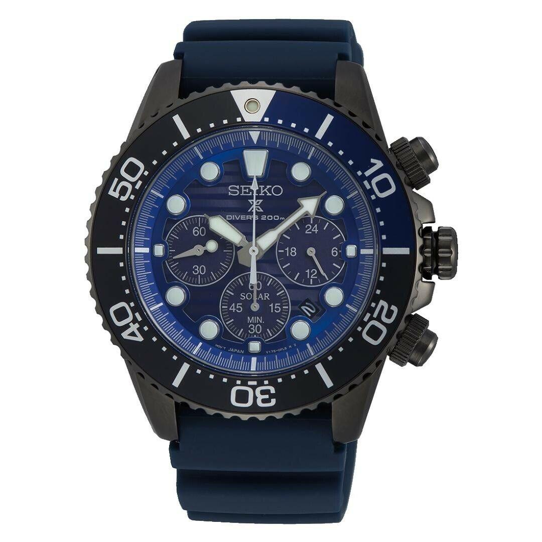 Seiko SSC701P1 Prospex Save Ocean Diver's 200m Chronograph Men's Watch