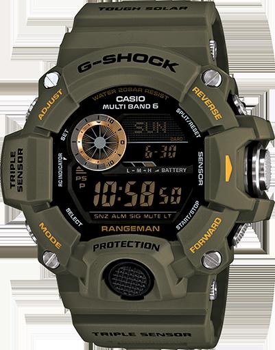Casio G-Shock Rangeman GW9400-3 Watch