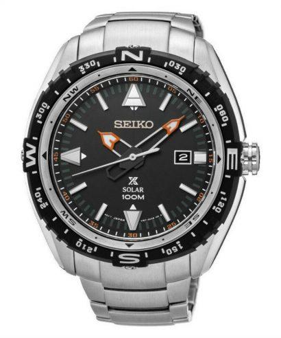 Seiko Prospex SNE421P1 Black Analog Casual Silver Men's Watch