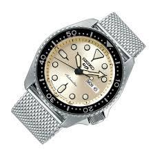 Seiko 5 Sports SRPE75K1 Mesh Stainless Steel Men's Brand New Watch