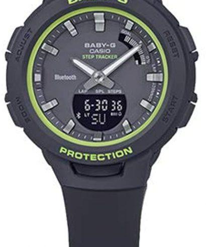 Casio Baby-G BSA-B100SC-1A Analog-Digital Black Women's Watch