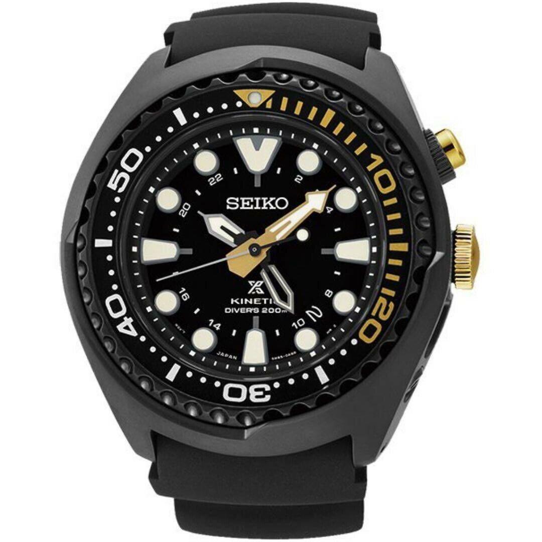 Seiko SUN045P1 Prospex Sea Kinetic GMT Diver's 200M Men's Watch