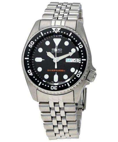 Seiko SKX013K2 Analog Automatic Scuba Divers Black Dial Men's Watch