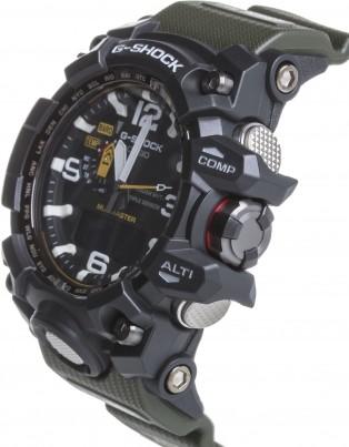 Casio G-Shock MUDMASTER GWG-1000-1A3 Multiband Green 6 Solar Watch