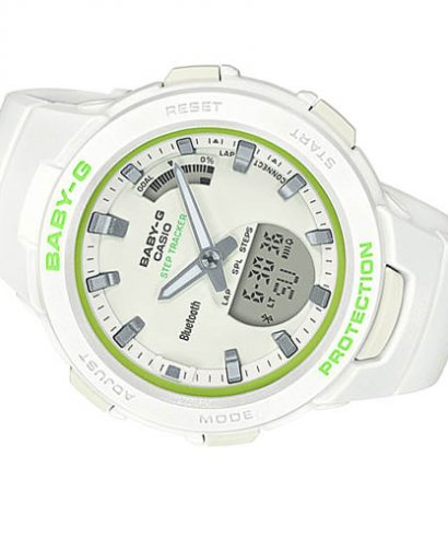 Casio Baby-G BSA-B100SC-7A Analog-Digital Women's Brand Watch