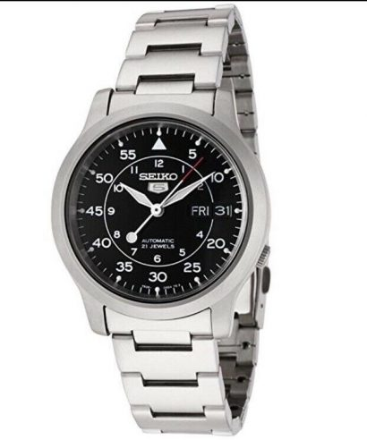 Seiko 5 Automatic SNK809K1 21 Jewels Men's Watch