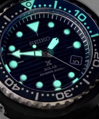 Seiko SNE518P1 Sports Solar Tuna Diver's 200M Blue Dial Men's Watch
