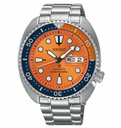 Seiko Prospex SRPC95J1 Orange Turtle Diver Japan Men's Watch