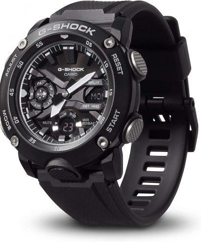 Casio G-shock GA-2000S-1A Carbon Core Guard Structure Men's Watch
