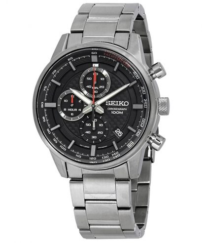 Seiko SSB313P1 Quartz Black Dial 42mm Analog Men's Watch