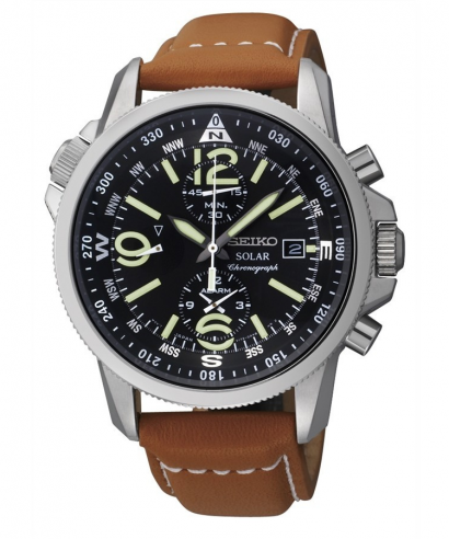 Seiko SSC081P1 Alarm Chronograph Solar Powered Men's Watch