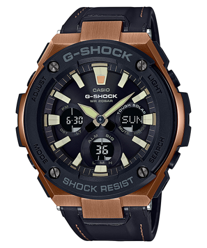 Casio G-Shock Tough Solar Shock Resistant 200M GST-S120L-1A Watch