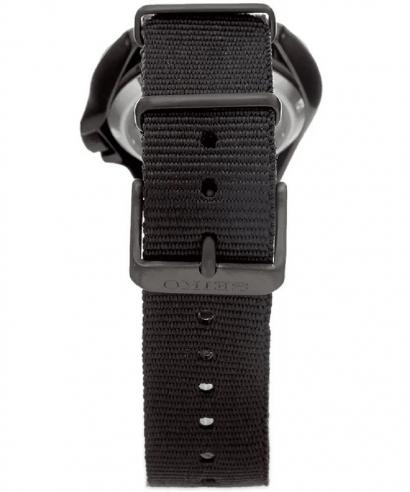 Seiko 5 Sports SRPE69K1 Black Dial Black Nylon Strap Men's Brand New Watch