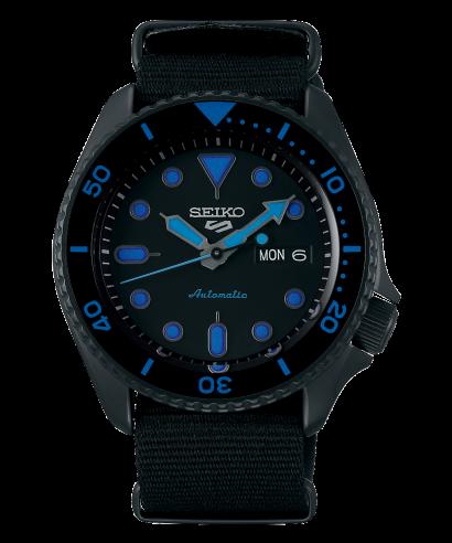 Seiko 5 Sports SRPD81K1 Steel Blue Automatic Men's Brand New Watch