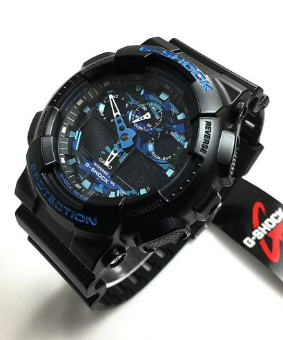 Casio G-Shock Men's Analog-Digital GA-100CB-1A Watch