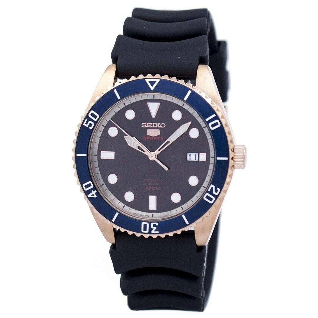 Seiko SRPB96J1 5 Sports Automatic Japan Made Men's Watch