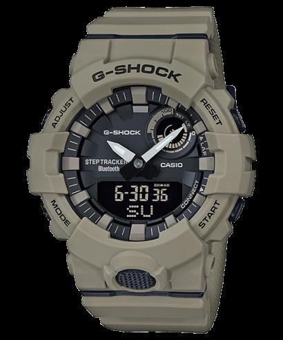 Casio G-Shock Step-Tracker Beige Resin Bluetooth GBA-800UC-5 Watch