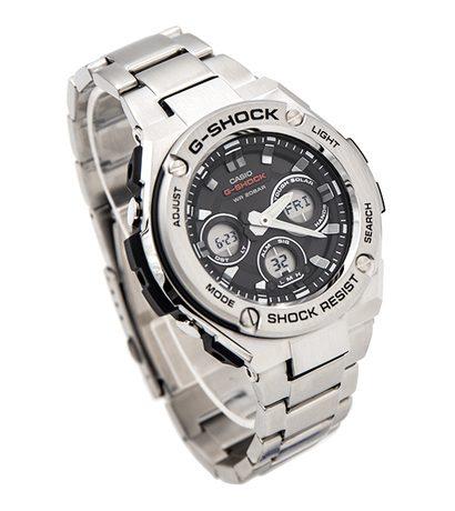 Casio G-Shock G-Steel Slim Tough Solar Silver GST-S310D-1A Men's Watch
