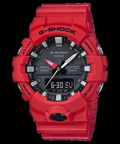 Casio G-Shock Shock Resistant Analog Digital GA-800-4A Watch