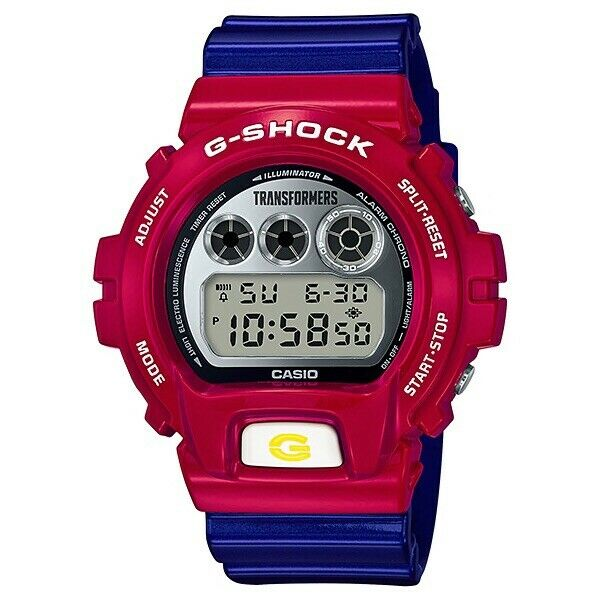 CASIO G-SHOCK DW-6900TF-SET Watch X TRANSFORMERS 35TH Anniversary