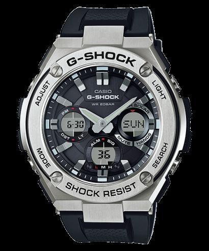 Casio G-Shock Stainless Steel Quartz GST-S110-1A Men's Watch