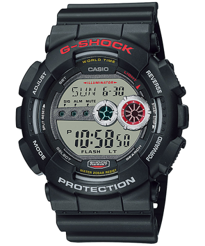 Casio G-Shock Black Digital Sport GD-100-1A Men's Watch