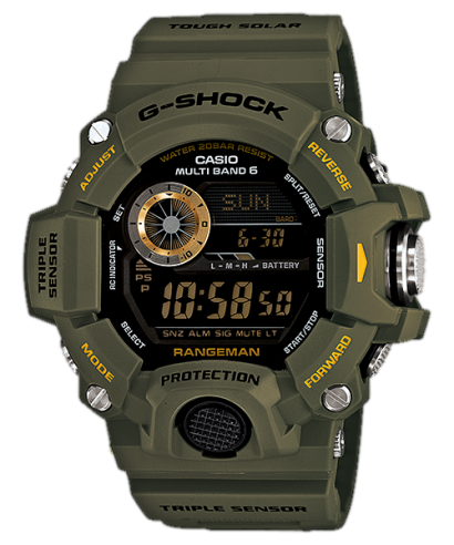 Casio G-Shock GW-9400-3 RANGEMAN Multi Band 6 Solar Atomic Men's Watch