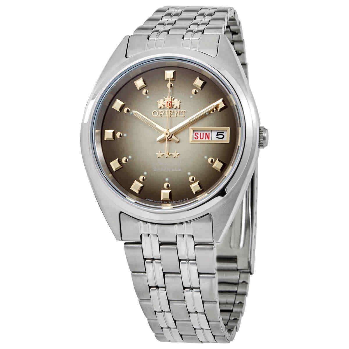 Orient Tristar FAB04003P9 Automatic Goldish Dial Men's Watch