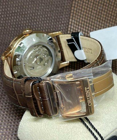 Orient RA-AK0001S00C Automatic Brown Strap Men's Watch