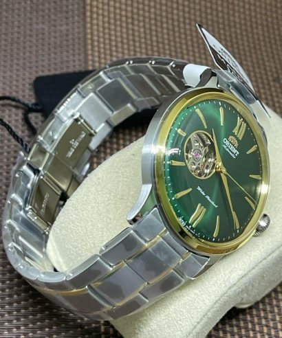Orient RA-AG0432E00C Green Automatic Two Tone Men's Watch